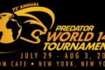 72nd Annual Predator World 14.1 Tournament 2012