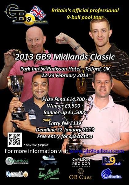 2013 GB9 Midlands Classic