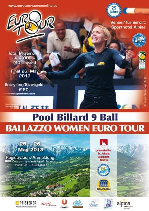 Plakat_ET_2013_Sankt Johann_Austria Women Open