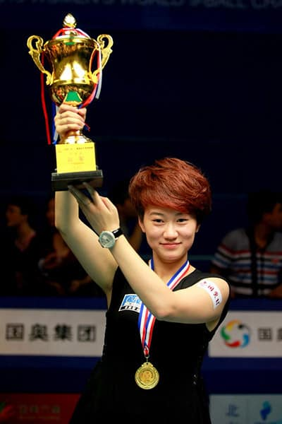 Yu Han (CHN) - Photo: Tai Chengzhe/Top147.com