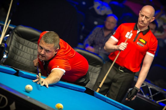 Chris Melling & Daryl Peach Team England B