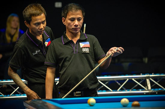 Lee Vann Corteza & Dennis Orcollo Team Philippines