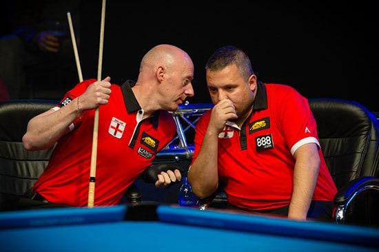 Daryl Peach & Chris Melling Team England B