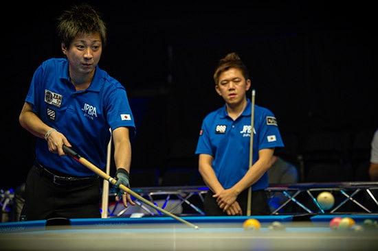 Naoyuki Oi & Lo Liwen Team Japan