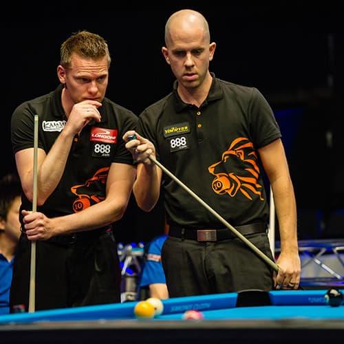 Niels Feijen & Nick van den Berg Team Holland