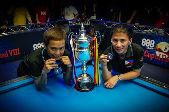 Lee Vann Corteza & Dennis Orcollo Team Philippines