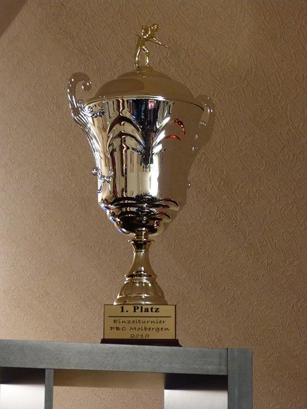 Siegerpokal PBC Mölbergen 2010