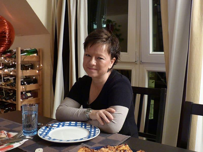 ...und Christine ist eine erstklassige Gastgeberin :-)