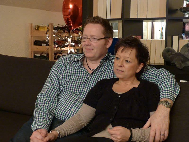 Martin und seine Lebensgefährtin Christine Wiechert