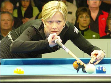 Allison Fisher has more championship wins than any other women's player in the history of pool & snooker