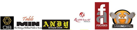The #1 Technology Cue.  Top Asian Table.   Best quality cloth at unbeatable prices.  www.FocusedApparel.com  www.SabongKing.com