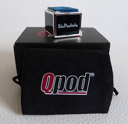 Sixpockets Qpod - Black Onyx