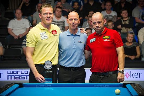 Niels Feijen (NED), Ralf Souquet (GER) and Darren Appleton (GBR)