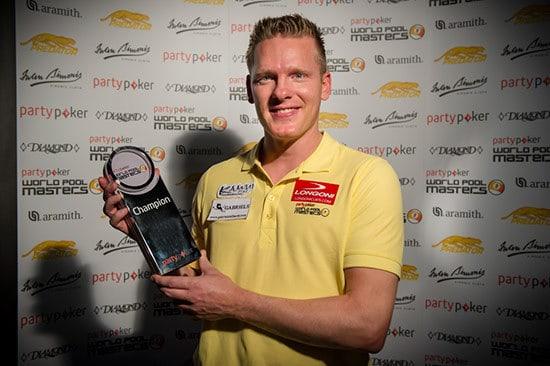2013 World Pool Masters Champion Niels Feijen (NED)