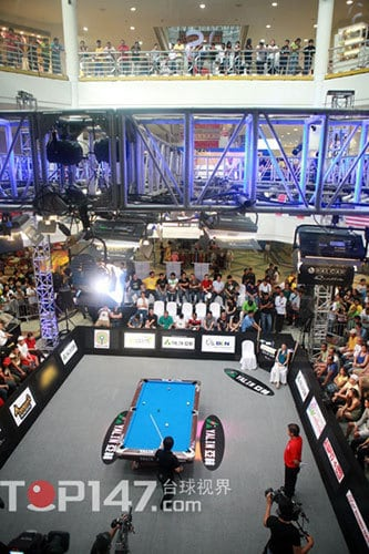 """""""Billiards, the sport of the Philippines. The sport of the people."""""""