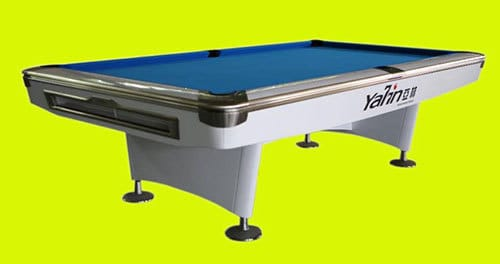 Yalin Billiards is unveiling its new shining white Yalin Championship Table to be used on all televised and live stream portions of the World 10-Ball