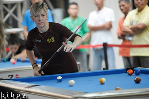 Fisher is considered to be the greatest of all time and looking for her first World 10-Ball win