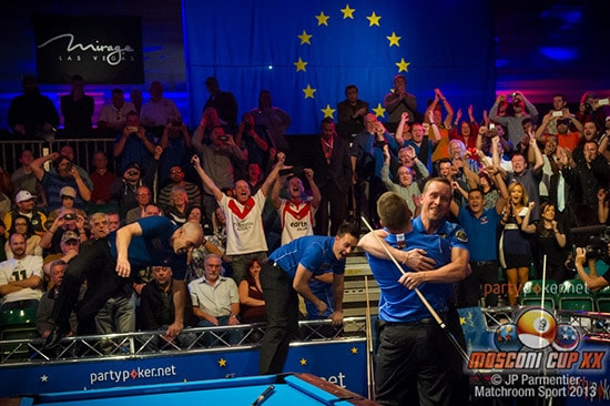 2013 PartyPoker.net Mosconi Cup - Europe rout the USA