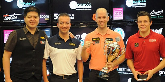 Huidji See (NED), David Alcaide (SPA), Nick van den Berg (NED) & Phil Burford (GBR) - Photo: EPBF