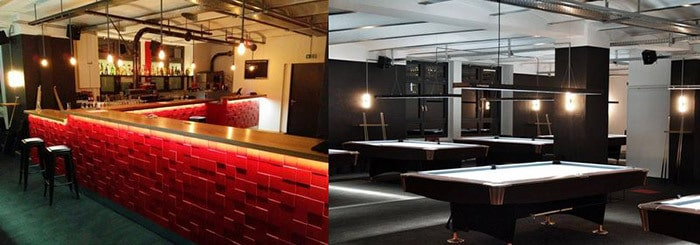 The brand new and very upscale Bata Bar & Billiards will be the hottest spot to be in Berlin.