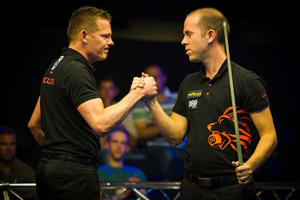 Niels Feijen (NED) and Nick van den Berg (NED) - Photo: Matchroom Sport