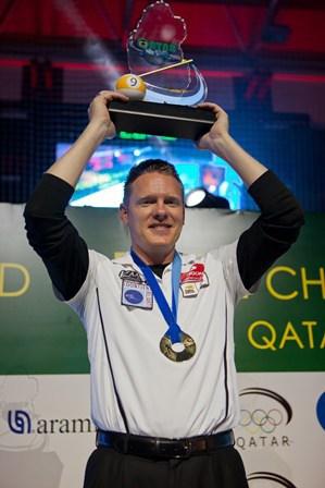 2014 WPA World 9 Ball Champion Niels Feijen (NED)