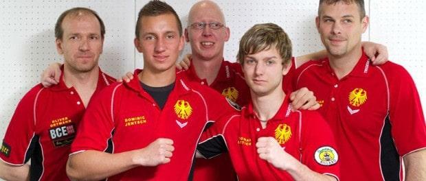 WTC 2010 Team Germany II mit Oliver Ortmann, Dominic Jentsch, John Blacklaw, Thomas Lüttich und Christian Musmann – Copyright Billardmagazin Touch