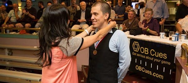 Stalev became the first Russian to ever Bronze in the World Tournament and also held the high run of 150 (as well as unofficial high run of 224)