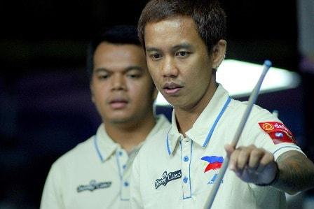 Carlo Biado and Lee Vann Corteza Team Philippines