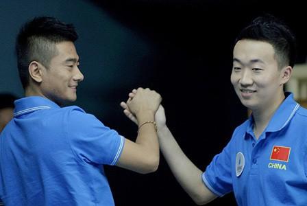 Dang Jinhu and Wang Can of China 2