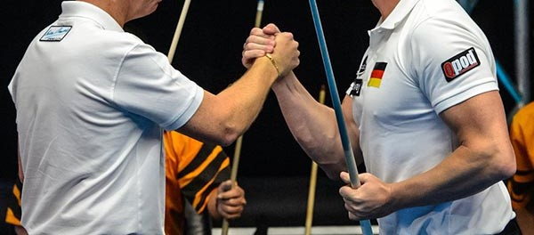 Team Germany Ralf Souquet and Thorsten Hohmann