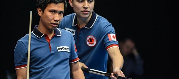 Team Canada Alex Pagulayan and John Morra