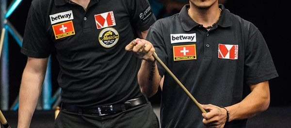 Team Switzerland Dimitri Jungo and Ronni Regli