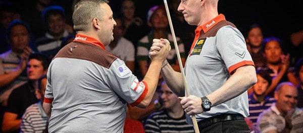 Team England B Chris Melling and Daryl Peach