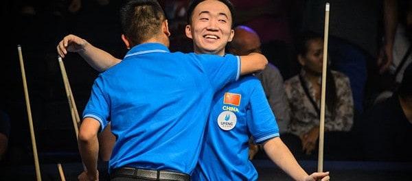 Team China Dang Jinhu and Wang Can