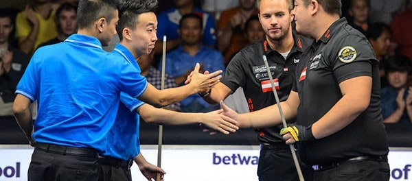 Team China vs. Team Austria