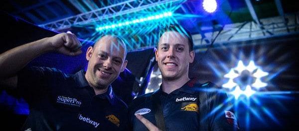 Team England A Darren Appleton and Karl Boyes