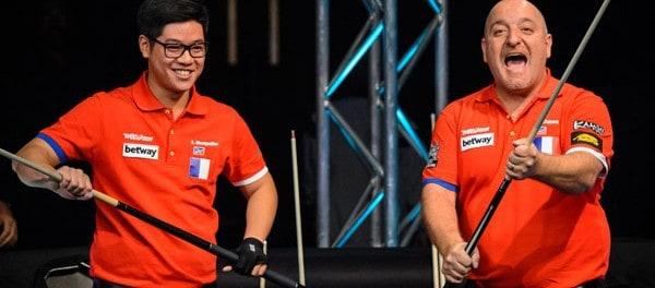 Team France Alex Montpelier and Stephan Cohen