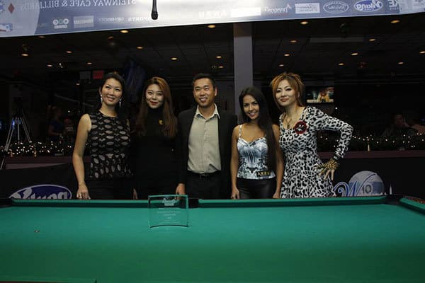 Jeanette Lee, Ga Young Kim, Executive Producer Charlie Williams, Shanelle Loraine, & Akiko Kitayama put on a entertaining show