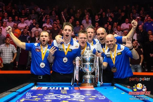Mosconi Cup XXI Champion Team Europe