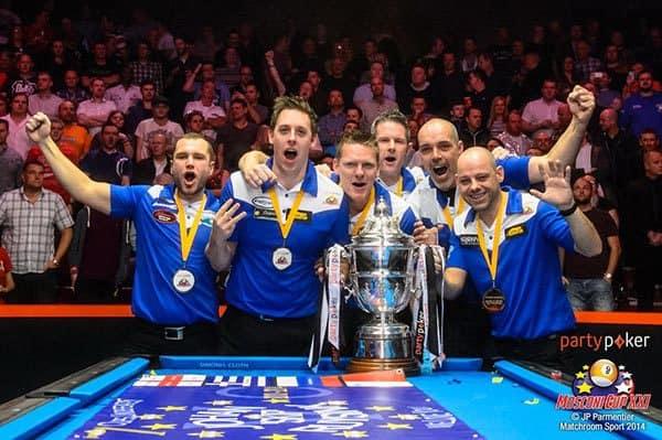Mosconi Cup XXI Champion Team Europe