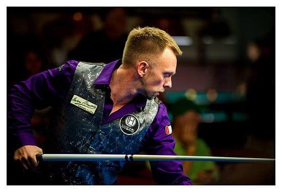 Thorsten Hohmann beim World Tournament of Straight Pool 2013
