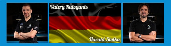 Team Deutschland 2 Valery Kuloyants und Harald Stolka