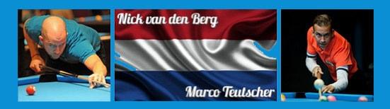 Team Holland Nick van den Berg und Marco Teutscher
