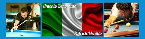 Team Italien Antonio Benvenuto und Patrick Menillo