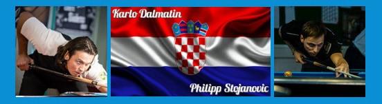 Team Kroatien Karlo Dalmatin und Philipp Stojanovic