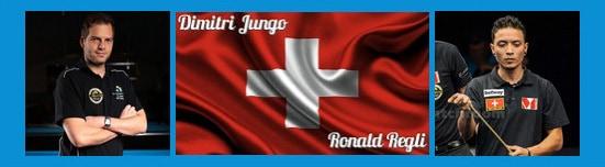 Team Schweiz Dimitri Jungo und Ronald Regli