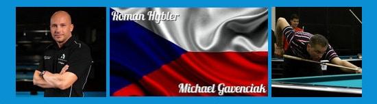 Team Tschechien Roman Hybler und Michael Gavenciak
