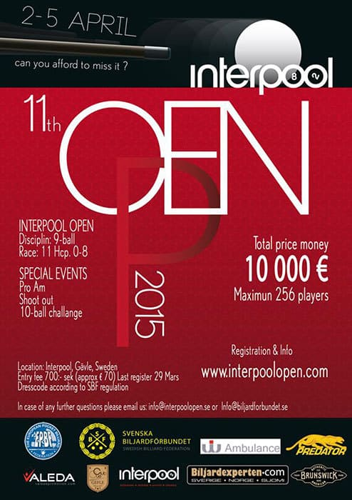 Interpool Open 2015