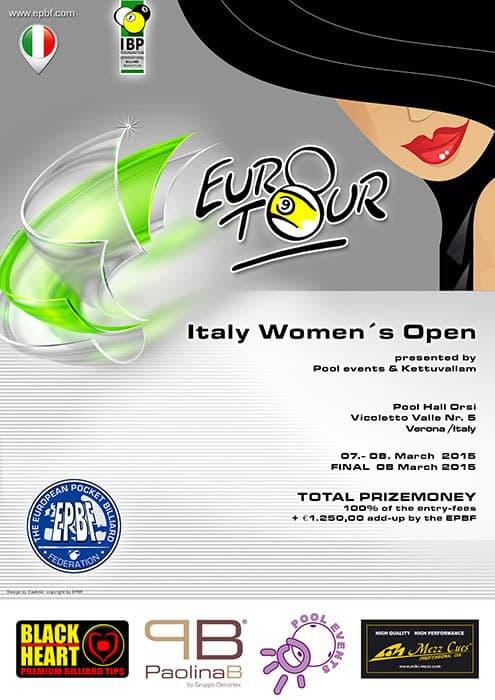 Italy Women Open 2015